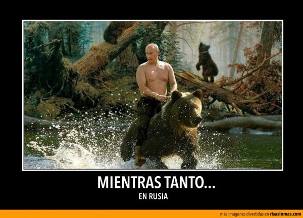 Mientras tanto en Rusia