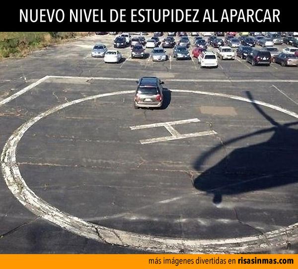 Nuevo nivel de estupidez al aparcar