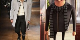 Parecidos razonables: Gru y la moda moderna