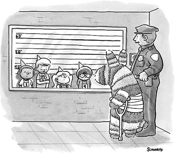 ¿Quién ha sido, señora piñata?