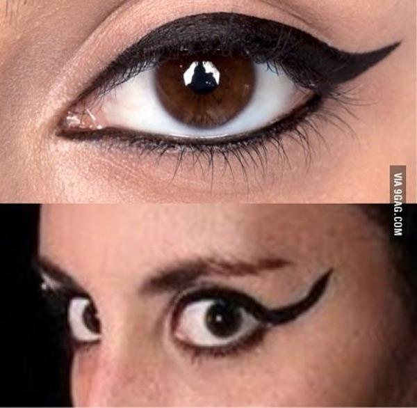 expectativas y realidad pintarse el rabillo del ojo - Pintarse Los Ojos