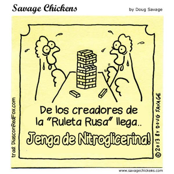 Jenga de nitroglicerina