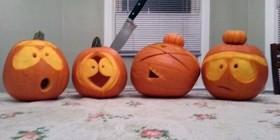 Southpark como calabazas de Halloween