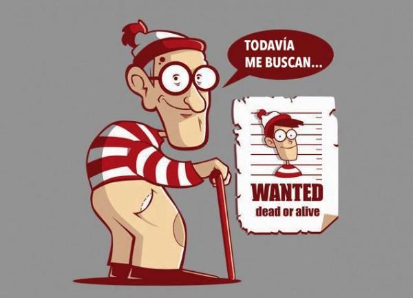 Todavía buscan a Wally