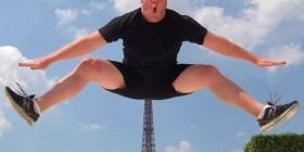 Una foto de la torre Eiffel original