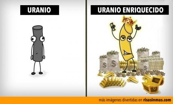 Uranio enriquecido