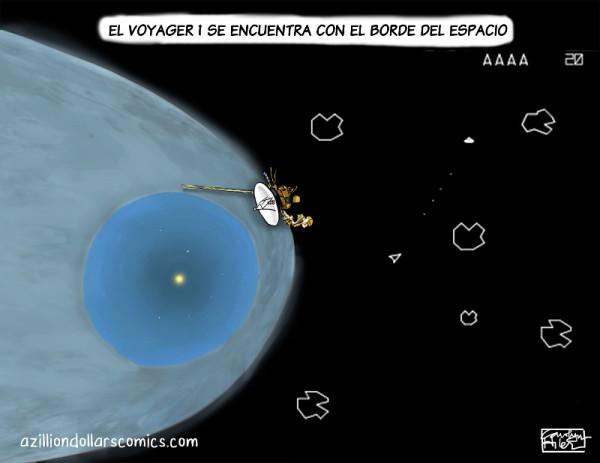 La voyager llega al borde del espacio
