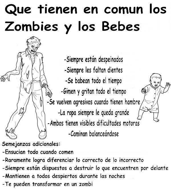 Zombies y bebés