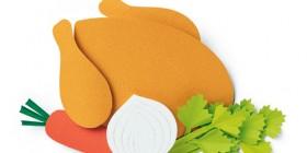 Alimentos hechos con papel