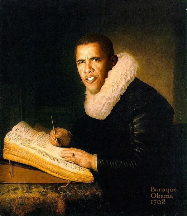 Bárroco Obama