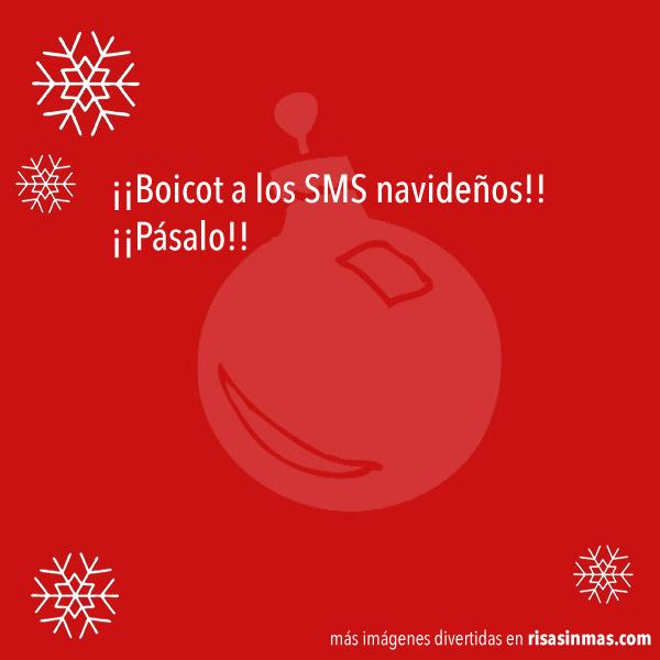 ¡Boicot a los SMS navideños!