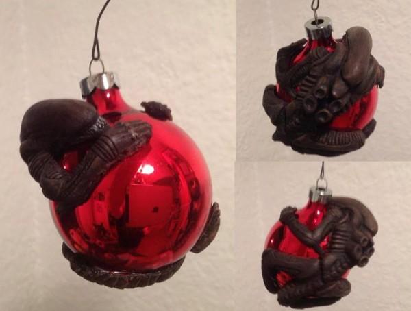 Bolas de navidad de Aliens