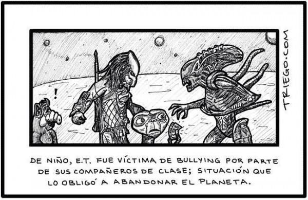 Bullying alienígena