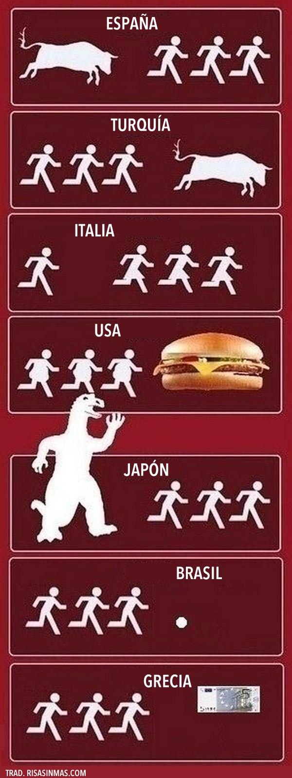 Cada país persigue una cosa