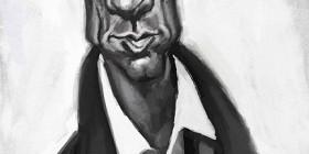 Caricatura de Clive Owen