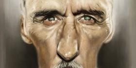 Caricatura de Dennis Hopper