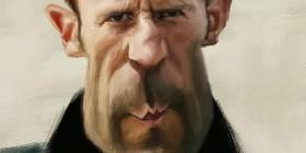Caricatura de Jason Statham
