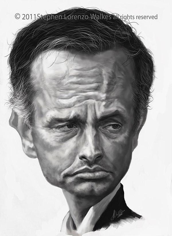 Caricatura de José Mourinho