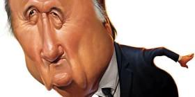Caricatura de Joseph Blatter