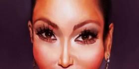 Caricatura de Kim Kardashian