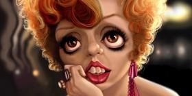 Caricatura de Liza Minnelli