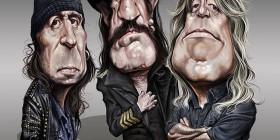Caricatura de Motörhead