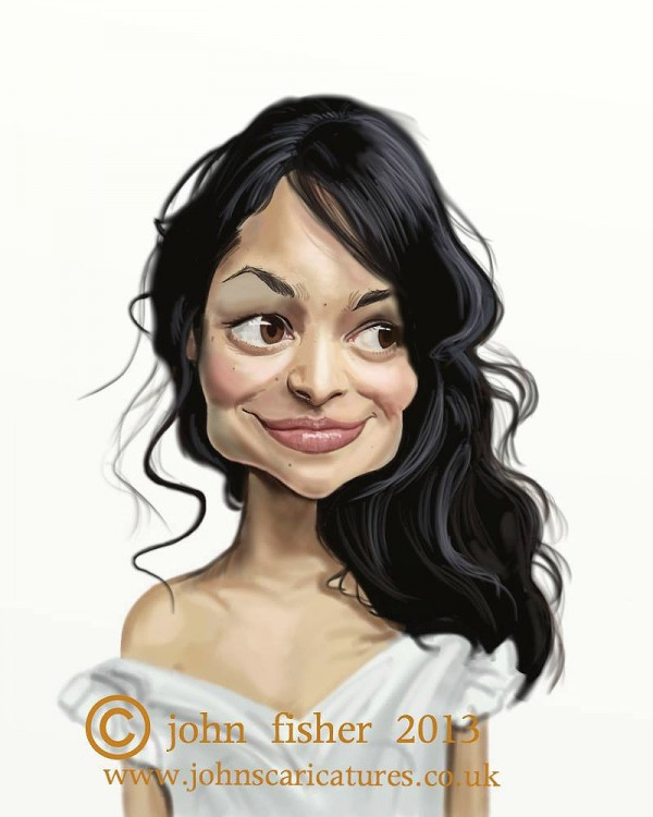 Caricatura de Norah Jones