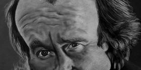 Caricatura de Phil Collins