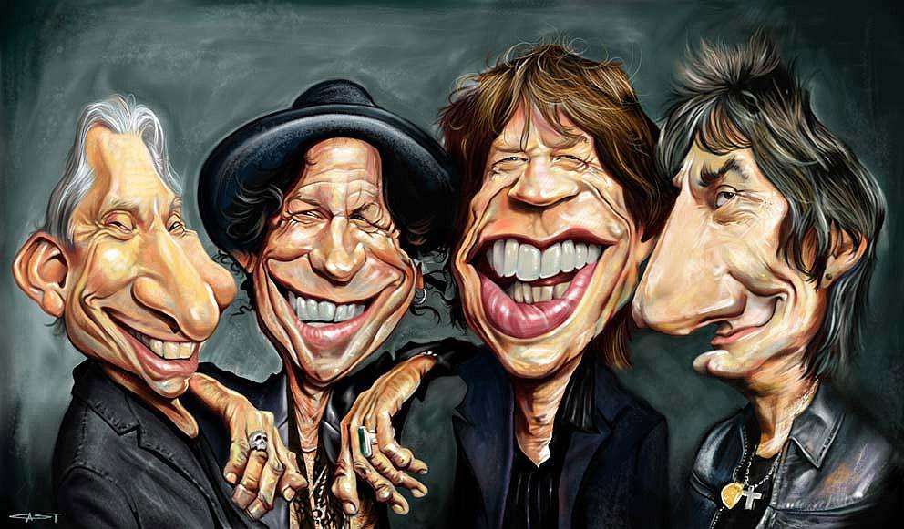 Resultado de imagen de gifs animados de Rolling Stones