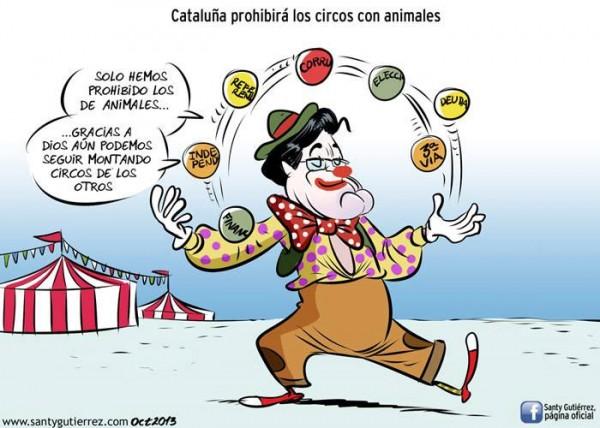Cataluña prohibirá los circos con animales