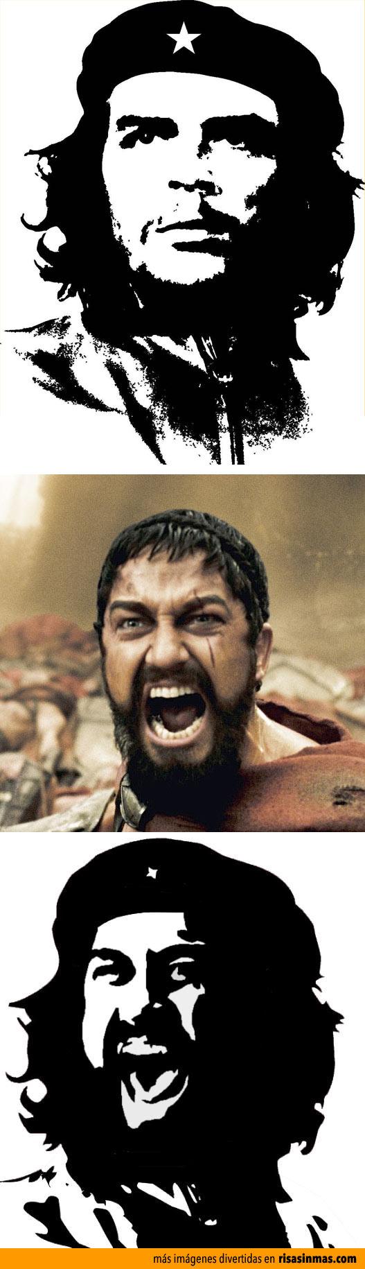 Che Guevara + Leonidas
