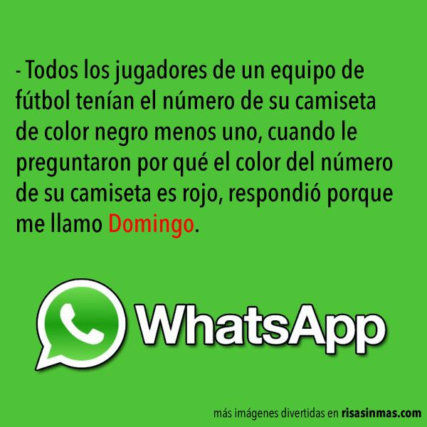 Chistes para WhatsApp: Domingo