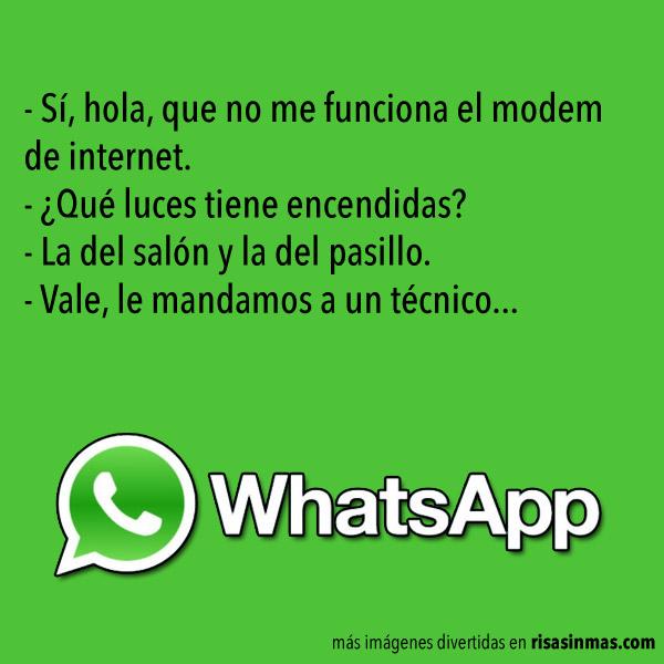 Chistes para WhatsApp: Internet
