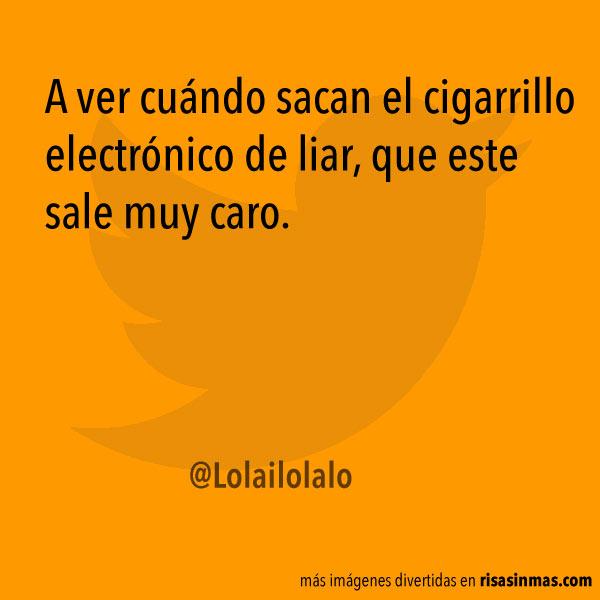 Cigarrillo electrónico de liar