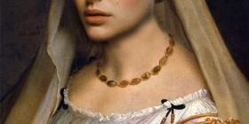 Cuadro del renacimiento con Natalie Portman