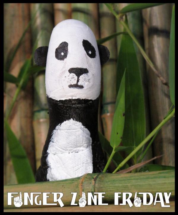 Dedo oso panda