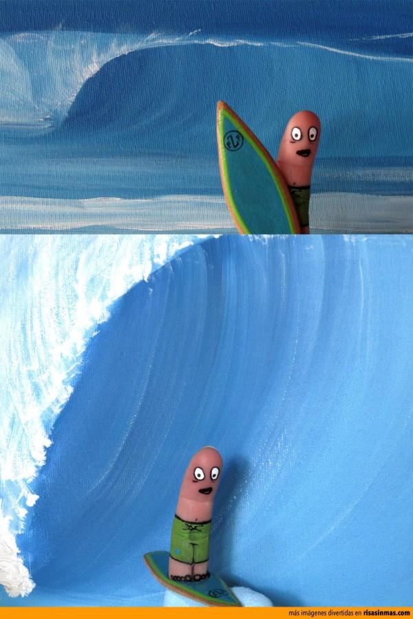 Dedo surfista