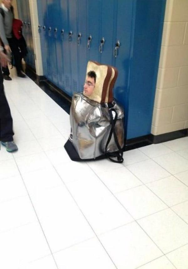 Disfraz de tostadora