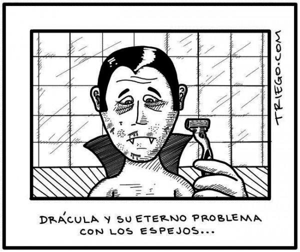 Drácula y los espejos