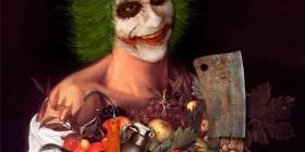 El Joker pintado por Caravaggio