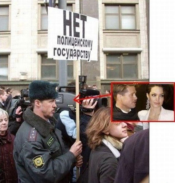 El doble de Brad Pitt es ruso