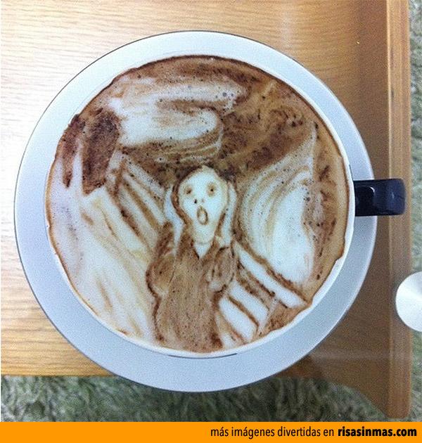 El grito en el café