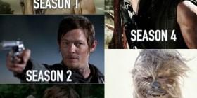 El pelo de Daryl Dixon