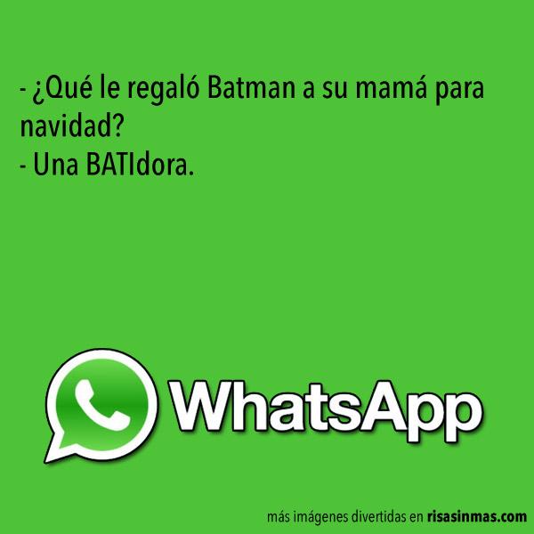 El regalo de Batman a su madre