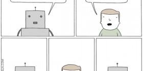 El robot tiene sentimientos