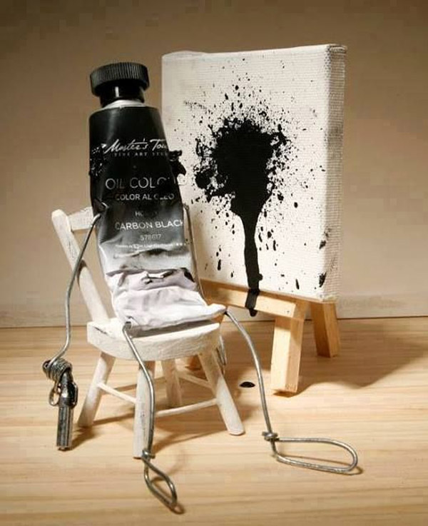 El suicidio de la pintura