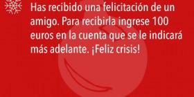 ¡Feliz crisis!