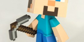 Figura Minecraft. Steve
