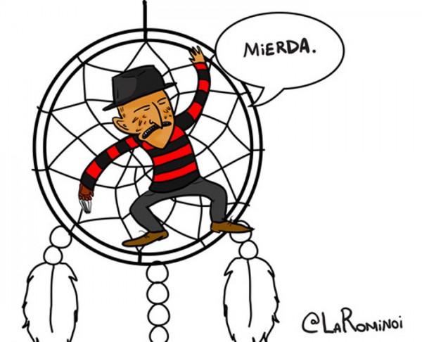 Freddy Krueger atrapado