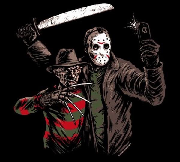 Freddy y Jason para el Facebook